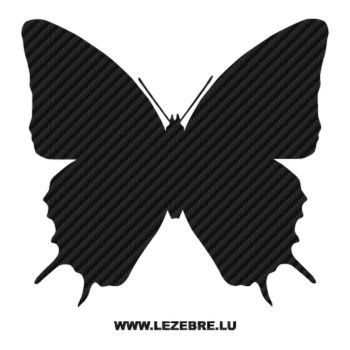 Butterfly Carbon Decal 12