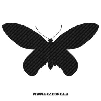 Butterfly Carbon Decal 13