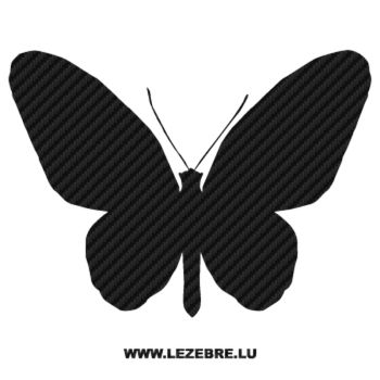 Butterfly Carbon Decal 14