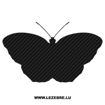 Butterfly Carbon Decal 15
