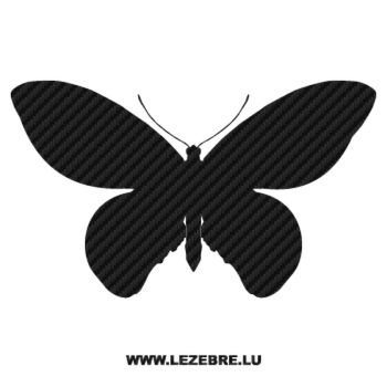 Butterfly Carbon Decal 17