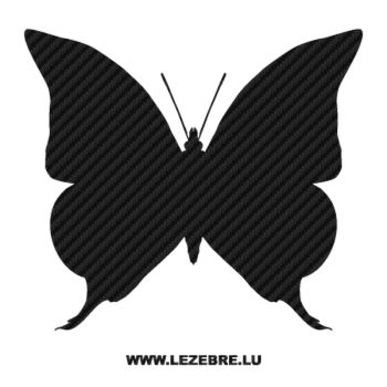 Butterfly Carbon Decal 18