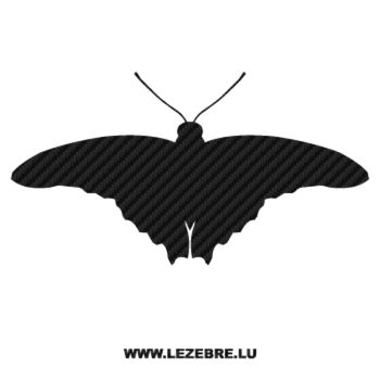 Butterfly Carbon Decal 19