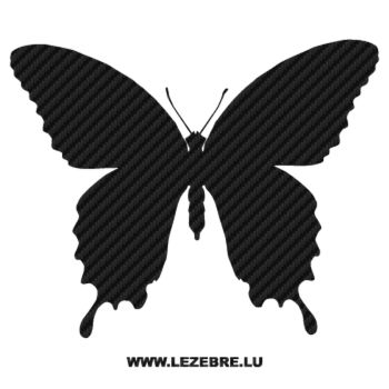 Butterfly Carbon Decal 20