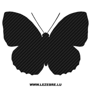 Butterfly Carbon Decal 21