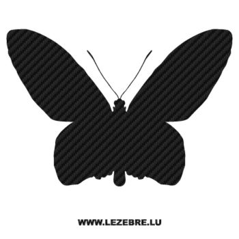 Butterfly Carbon Decal 22