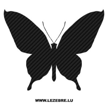 Butterfly Carbon Decal 23