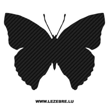 Butterfly Carbon Decal 27