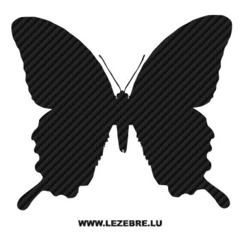 Butterfly Carbon Decal 28