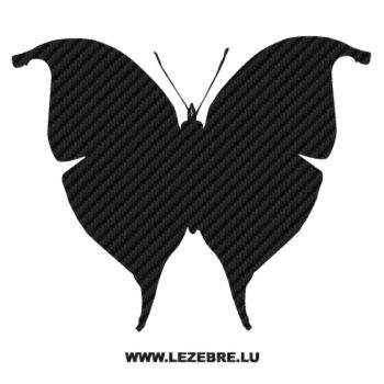 Butterfly Carbon Decal 29