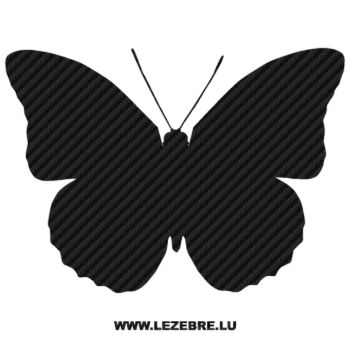 Butterfly Carbon Decal 30