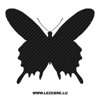Butterfly Carbon Decal 31