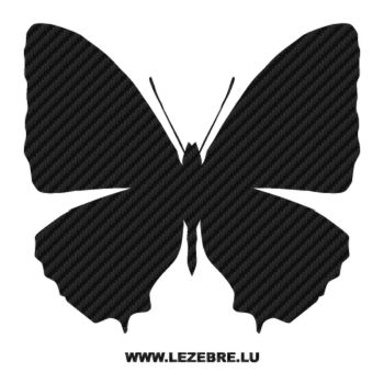 Butterfly Carbon Decal 32