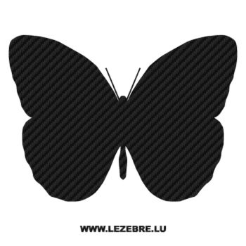 Butterfly Carbon Decal 33