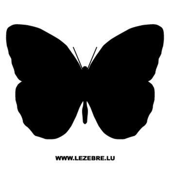 Butterfly Decal 33