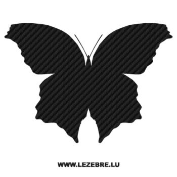 Butterfly Carbon Decal 34