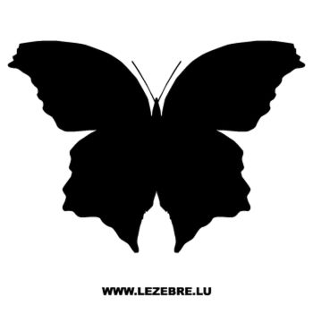 Butterfly Decal 34