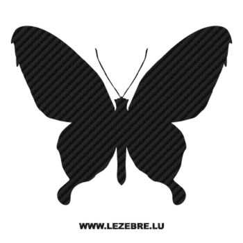 Butterfly Carbon Decal 35