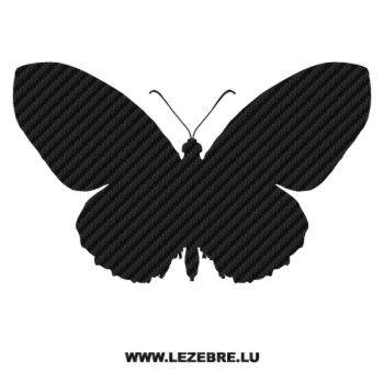 Butterfly Carbon Decal 38