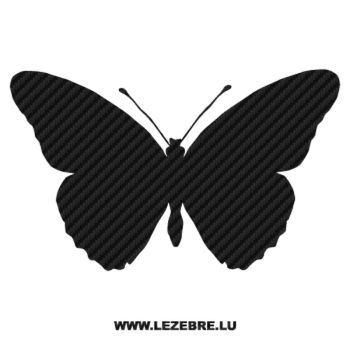 Butterfly Carbon Decal 39