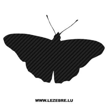 Sticker Carbone Papillon 04