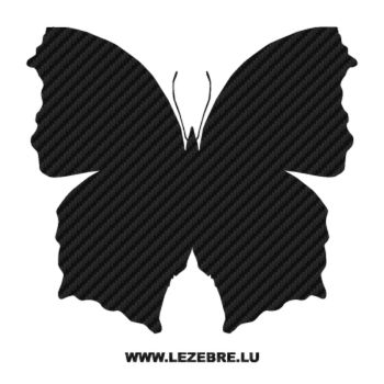Butterfly Carbon Decal 40