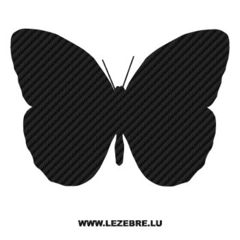 Butterfly Carbon Decal 41