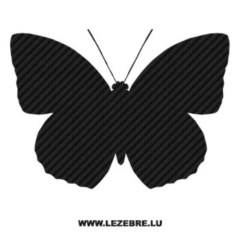 Butterfly Carbon Decal 42