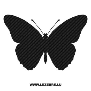 Butterfly Carbon Decal 43