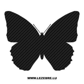 Butterfly Carbon Decal 44