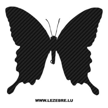 Butterfly Carbon Decal 45