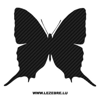 Butterfly Carbon Decal 46