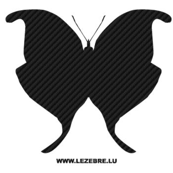 Butterfly Carbon Decal 47