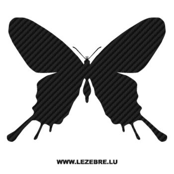 Butterfly Carbon Decal 48