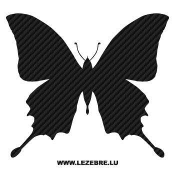 Butterfly Carbon Decal 49