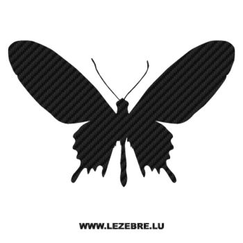 Butterfly Carbon Decal 50