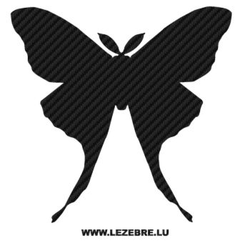 Butterfly Carbon Decal 51