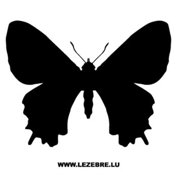 Butterfly Decal 52