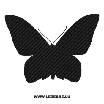 Butterfly Carbon Decal 53