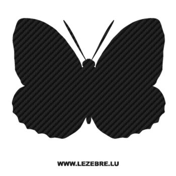Butterfly Carbon Decal 54