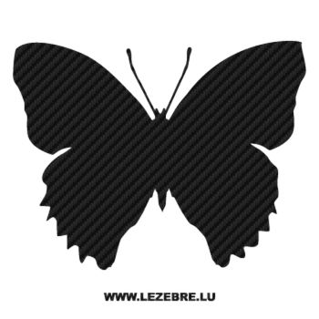 Butterfly Carbon Decal 55