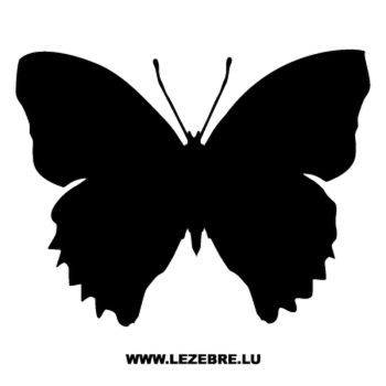 Butterfly Decal 55
