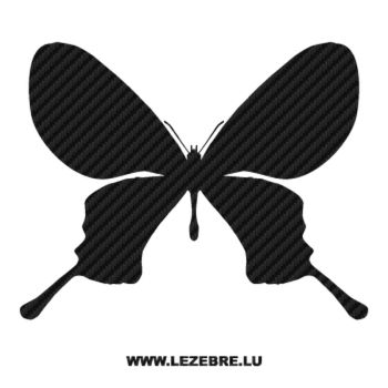 Butterfly Carbon Decal 56