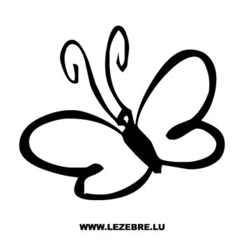 Butterfly Decal 57