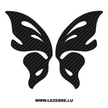 Butterfly Carbon Decal 59