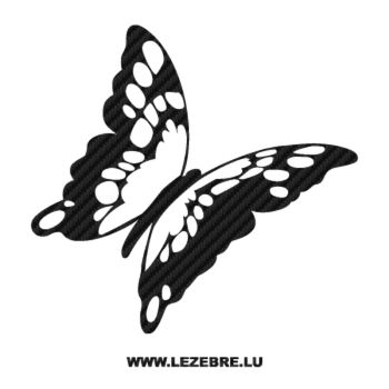 Butterfly Carbon Decal 60