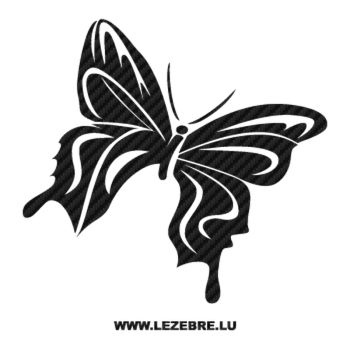 Butterfly Carbon Decal 62