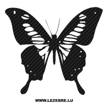 Butterfly Carbon Decal 63