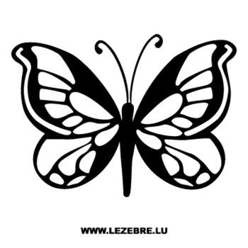 Sticker Schmetterling 64