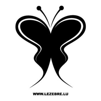 Butterfly Decal 66